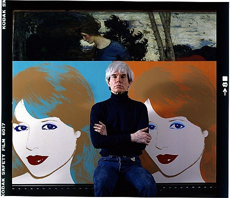 Harry Benson, Andy Warhol Portrait  Edition of 35 1983, photograph