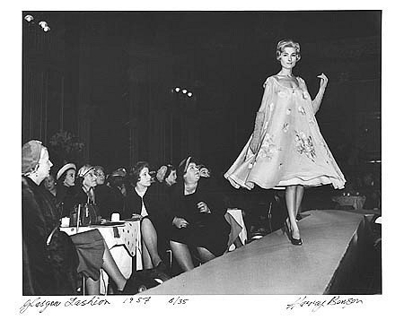 Harry Benson ,   Dior Comes to Glasgow, Edition of 35  ,  1957     photograph     HB120499