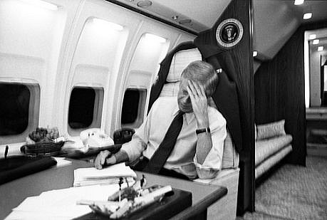Harry Benson ,   President Jimmy Carter on Air Force One, Edition of 35      photograph     HB120453