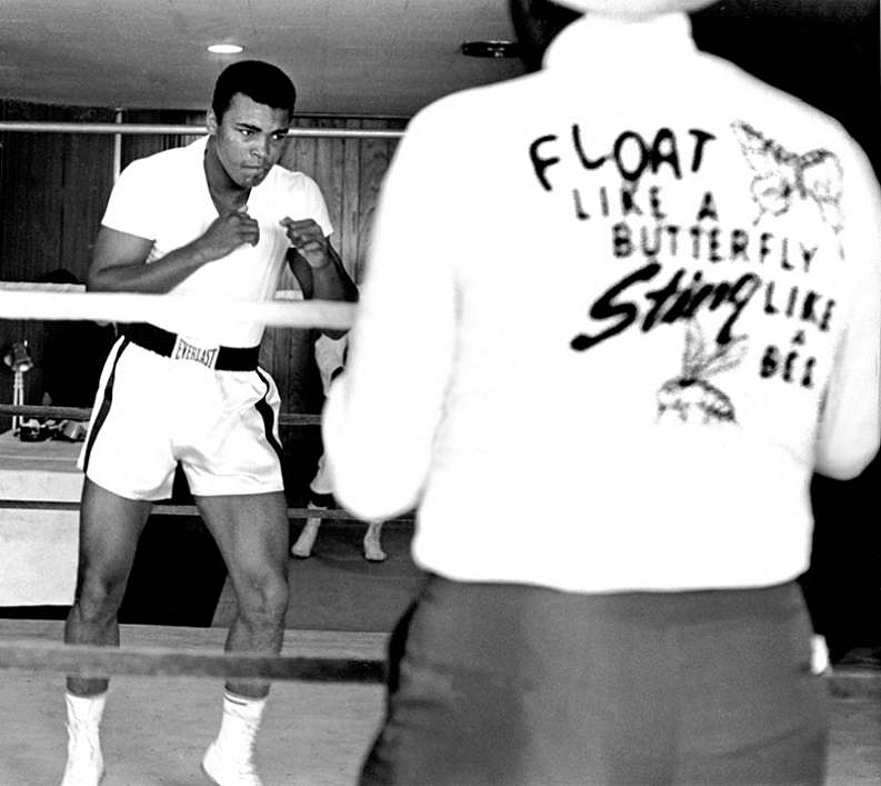 Harry Benson ,   Ali Float Like a Butterfly, Miami, Edition of 35  ,  1964     archival pigment print ,  24 x 30 in. (61 x 76.2 cm)     HB120103