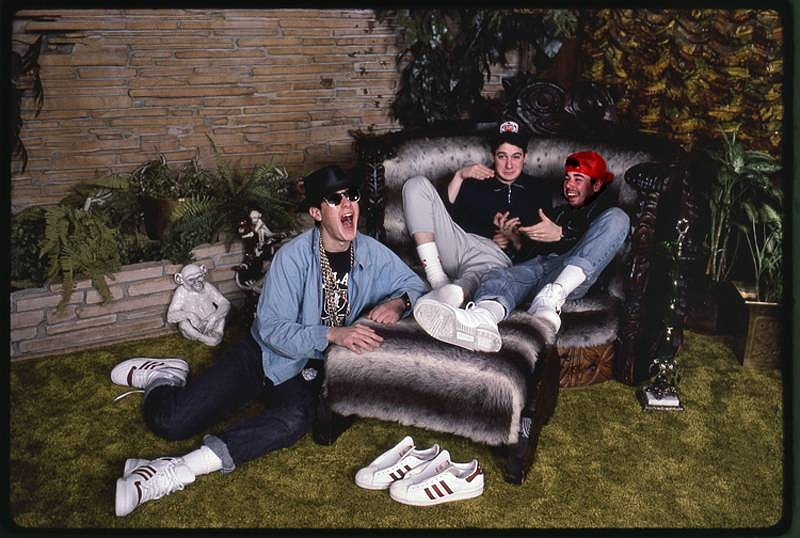 Harry Benson ,   Beastie Boys, March '87, Edition of 35  ,  1987     photograph     HB120486