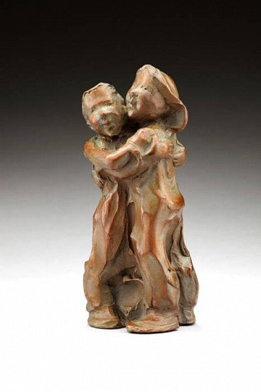 Jane DeDecker, Hug O War, Edition of 31 2009, bronze