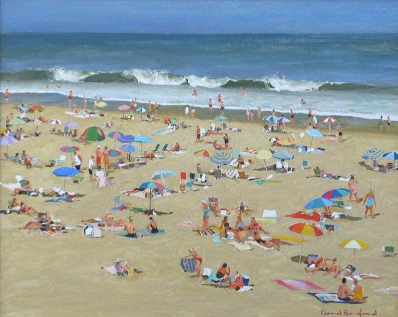 David Bareford, Summer's Magic 2013, oil on canvas
