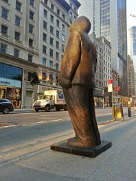 Jim Rennert News & Events: THINK BIG installed on 57th Street!, November 20, 2013 - Project 3W57