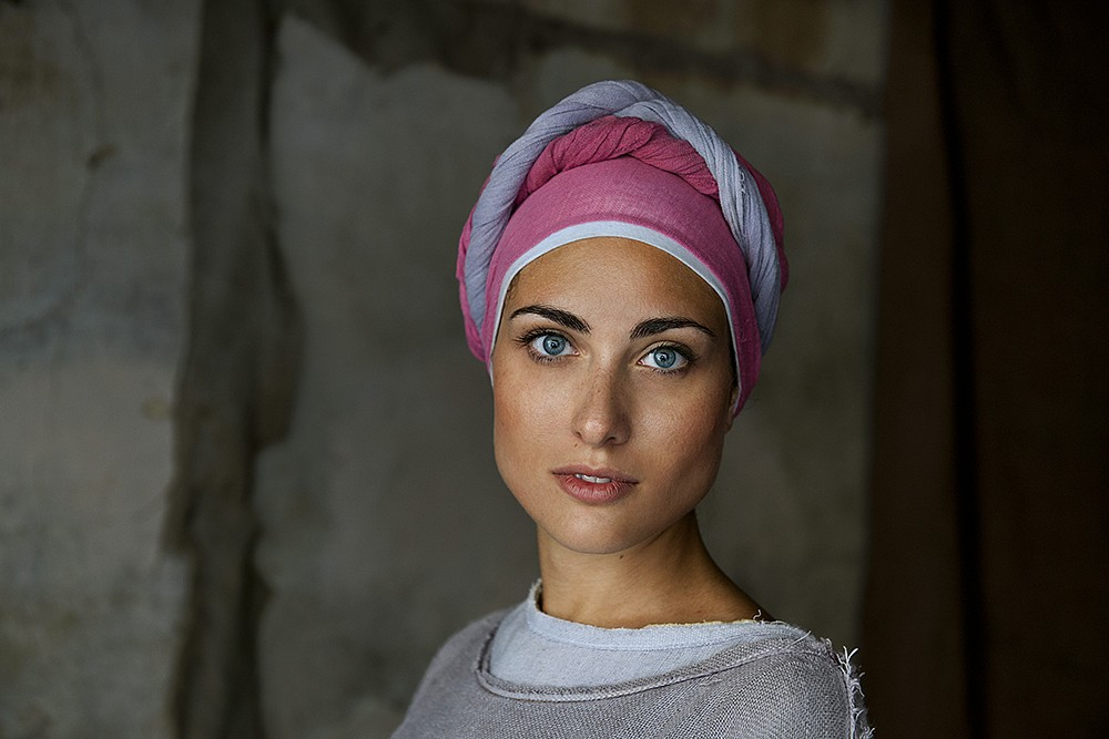 Steve McCurry, Woman in Costume for Perugia Medieval Summer Festival 2012, FujiFlex Crystal Archive Print
