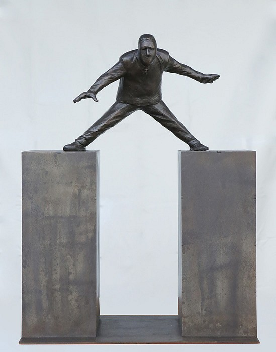 Jim Rennert, Steady, Edition of 9 2012, bronze and steel