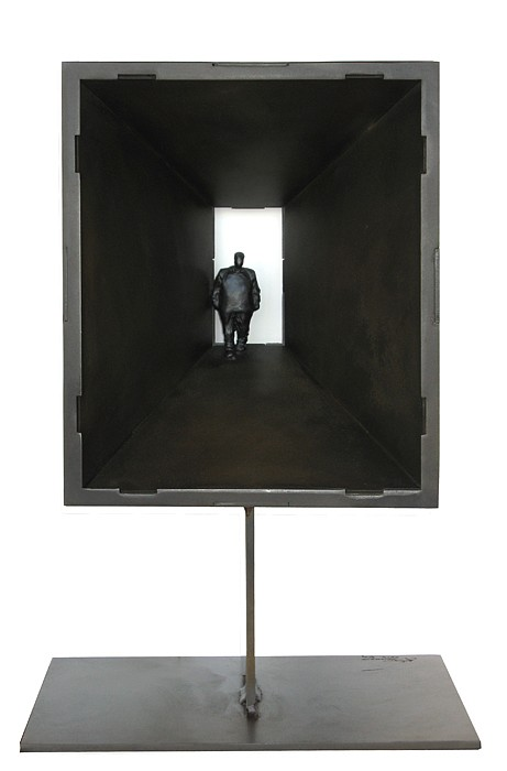 Jim Rennert, Transcend, Edition of 9 2012, bronze and steel