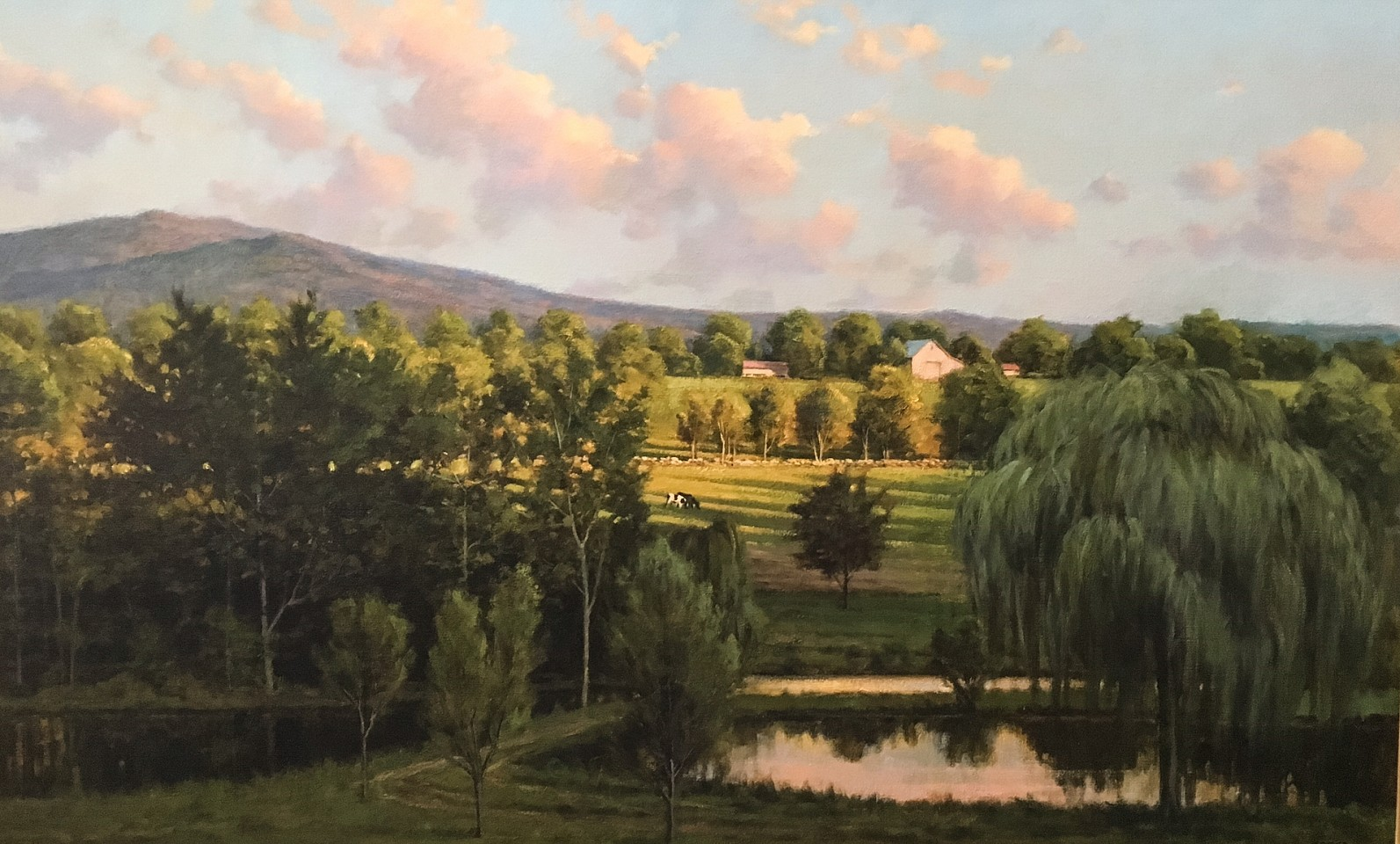 Frank Corso, Late Afternoon Long View 2015, oil on canvas