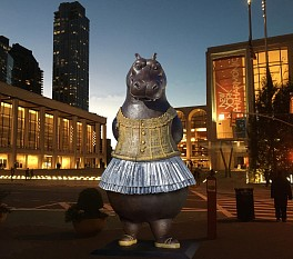 Press: NYC's Latest Tourist Attraction Is a Hippo Ballerina, February  2, 2017 - Dance Magazine | Madeline Schrock