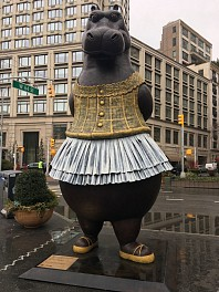 Press: 18 Public Art Shows to Get Excited About in NYC This Spring, March 24, 2017 - Artnet News | Kiki Olmedo & Sarah Cascone