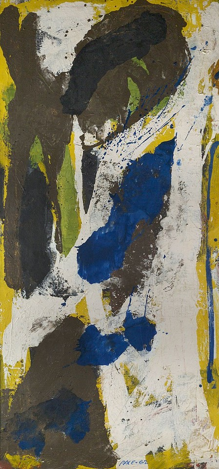 Stephen Pace ,   Untitled (62-18)  ,  1962     oil on canvas ,  75 x 36 in. (190.5 x 91.4 cm)     PAC-00066