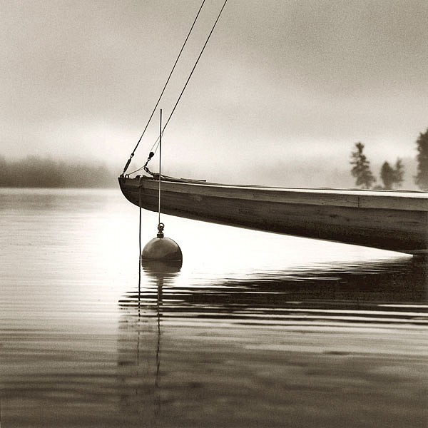 Michael Kahn ,   Bow of the Idem, Edition of 40      silver gelatin photograph ,  19 x 19 in. (48.3 x 48.3 cm)     MKAD84