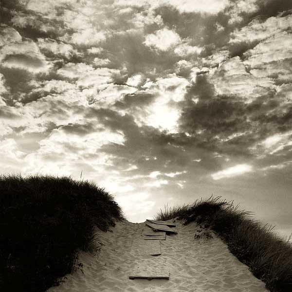 Michael Kahn ,   Pathway to the Beach, Edition of 40      silver gelatin photograph ,  19 x 19 in. (48.3 x 48.3 cm)     MK101202