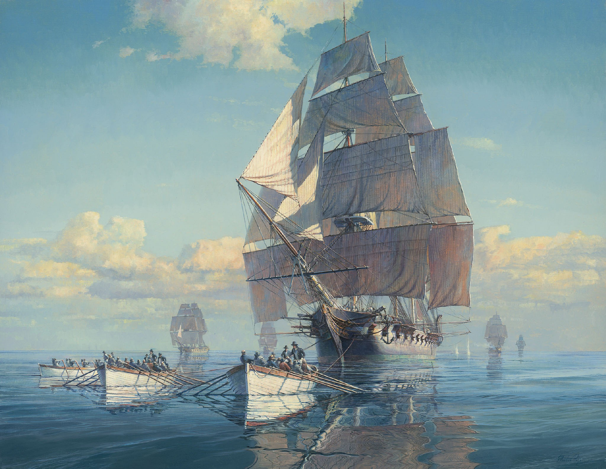 PRESS RELEASE: Maarten Platje: The Early History of the U.S. Navy, Apr  8, 2019 - May 31, 2020