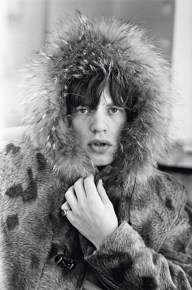 Terry O'Neill ,   Mick Jagger, Ed. 41/50  ,  1964     gelatin silver print ,  24 x 20 in. (61 x 50.8 cm)     RS010-1