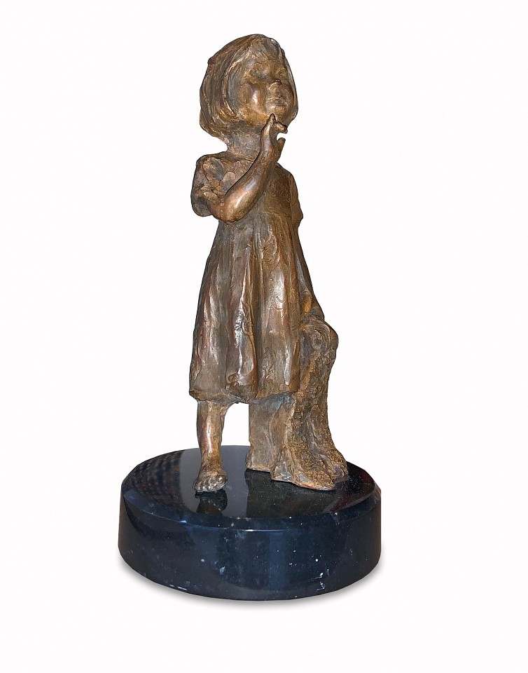 Jane DeDecker ,   From Kate with Love, Ed. 5/31  ,  2019     bronze ,  10 x 4 x 4 in. (25.4 x 10.2 x 10.2 cm)     JD190810