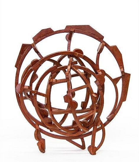 Joel Perlman ,   Brick Red  ,  2009     bronze ,  25 x 23 x 12 in. (63.5 x 58.4 x 30.5 cm)     JP170901